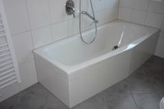 Gemütliche Badewanne