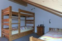 Hochbett im zweiten Schlafzimmer